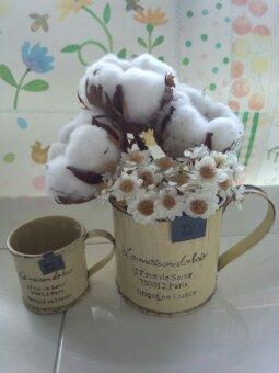 ナチュラルレトロの花挿しカップ