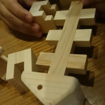 3D!立体木製パズル・おさかな2は頭脳に良さげで飾っても可愛い!